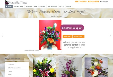 Sutcliffe Floral Website