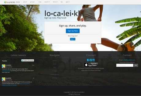 localeikki web design screenshot